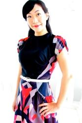 Asymmetrical Geometric dress