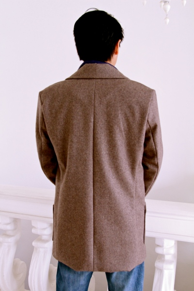 Goldstream peacoat back