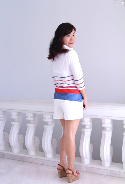 Coco blouse back