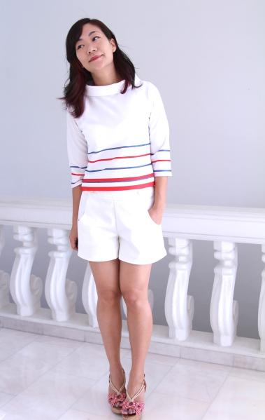 white sailor pants
